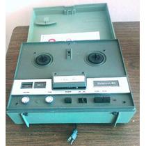 Grabadora De Cinta Carrete 70s Vintage Wollensak 3m Tape ,