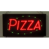 Anuncio Luminoso Leds Pizza Dinámico /letrero Led Pizza