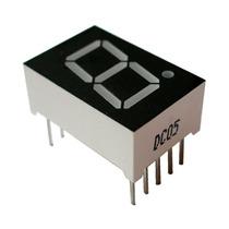 40 Pzs. Display De Leds 7 Segmentos Rojo. Microcontroladores
