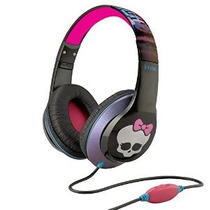 Monster High Over-the-ear Auriculares Con Control De Volumen