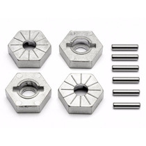 Hpi Racing 86804 Hex Wheel Hub 17mm Silver Savage X Adapter