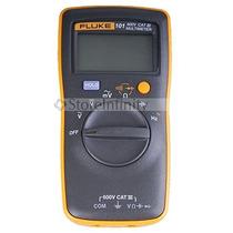 Fluke 101 Basic Digital Multimeter Pocekt Portable Meter Equ