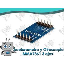 Acelerometro Y Giroscopio 3 Ejes Salidas Analógicas Mma7361