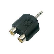 Convertidor De Rca A Plug Stereo 3.5mm 2 Piezas Electronet25