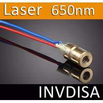 Diodo Laser Con Tubo De Cobre De 6mm, 5v, Arduino, Pic, Avr