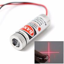 Laser Rojo Haz Final En Forma De Cruz 5v