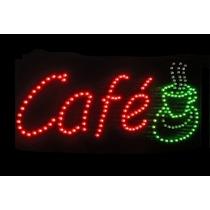 Anuncio Luminoso Led Café
