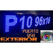 Led Display Anuncio Tecno Pantalla Texto/grafico Programable