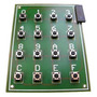 5 Pzs Teclado Matricial Hexadecimal 4x4 Bolt 18f2550