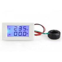 Amperimetro Voltimetro Mini 80-300 Vac 0-100 Aac Empotrar