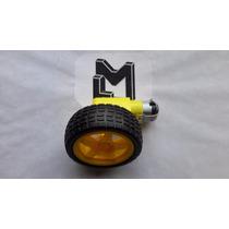Motorreductor Con Llanta 3-9 V