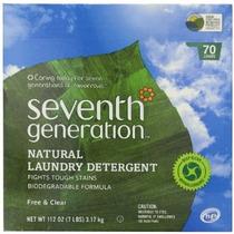 Generación Libre Séptima Y Claro Natural Detergente En Polvo