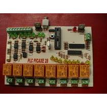 Kit Plc Para Picaxe28 Con 8 Entradas Discretas 8 Salidas