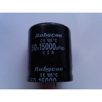 Capacitor Electrolítico 15000 Uf / 50vdc Factura.