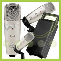 Micrófono C-1 Condensador Behringer Profesional -e Winners