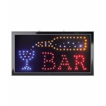 Anuncio Luminoso Led 25x48cm Bar Estetica