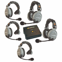 Eartec Comstar Xt-5 Sistema Inalámbrico De Intercomunicación