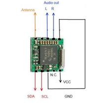 Módulo De Radio Fm Para Usar Con Microcontrolador (3 Piezas)