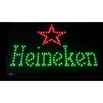 Anuncio Luminoso Led Cerveza Heineken