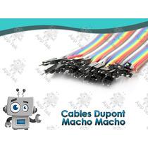 Cables Dupont Jumpers Para Protoboard