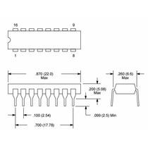 Nte842 Circuito Integrado Televisión Vídeo If Amplificador