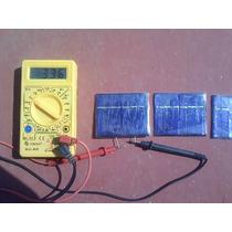 Celda Solar De 3 Volts A 50 Mah