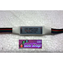 Mini Amplificador Rgb Manual (tiras Led O Modulos) Ledshopmx