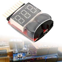 1-8s Indicador Led Li-ion Comprobador Tester Voltaje Alarma