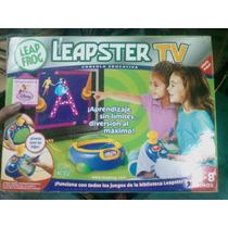 Leapster Tv Leapfrog Nuevo En Caja (1 Cartucho Gratis)