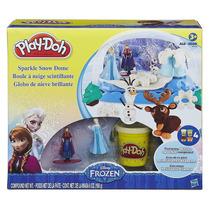 Play-doh Disney Frozen Globo De Nieve Brillante Edad 3 Años