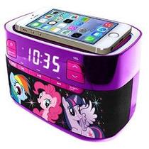 My Little Pony Moldeado Radio Bluetooth Con El Reloj