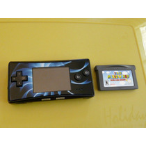 Nintendo Gameboy Micro + Mario World 2 Advance-probado Y Fun