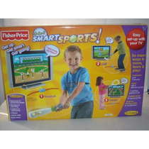 Smart Sports Fisher Price Golf Beisbol Tenis 3 En 1 Trabucle
