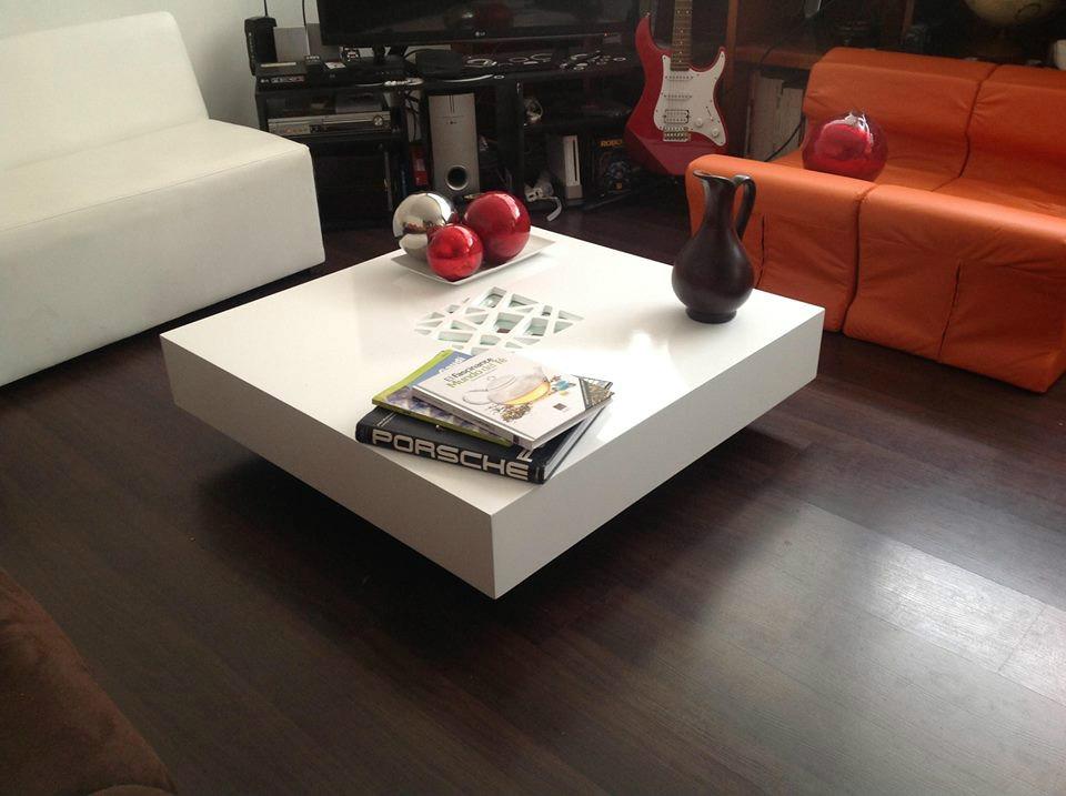 Elegante y moderna mesa de centro minimalista 4 - Mesas de centro marmol ...