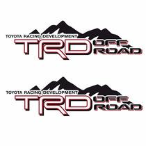 Sticker Autos - Calcomania - Vinil - Logo Trd Off Road