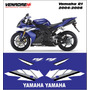 Calcomanias, Stickers Yamaha R1 2004-2006