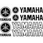 Jgo De 6 Calcomanias Para Tu Yamaha