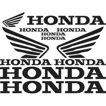 Jgo De 9 Calcomanias Para Tu Honda