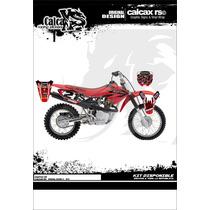 Kit De Calcas Graficos Honda Xr 110