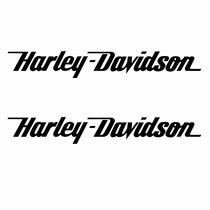 Sticker - Calcomania - Vinil - Logo Harley Davidson Slim