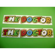 Jgo De 2 Calcomanias The Doctor Valentino Rossi!!!