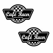 Sticker - Calcomania - Vinil - Logo Cafe Racer