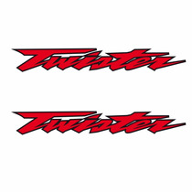 Sticker - Calcomania - Vinil - Logo Twister Honda