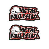 Sticker - Calcomania - Vinil - Metal Mulisha