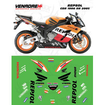 Calcomanias, Stickers Honda Cbr 1000 Rr 2005