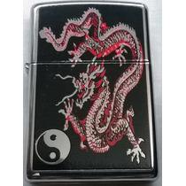 Encendedor Zippo Dragon Ying Yang Nuevo Original!!