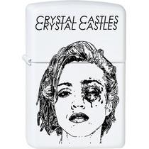 Encendedor Blanco - Crystal Castles Madonna Electro Synth