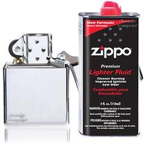 Encendedor Zipp Y Líquido De Recarga Gratis