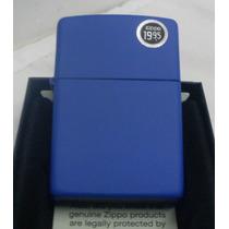 Encendedor Zippo Blue Royal Azul Rey Nuevo Original!!