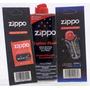 Paquete Liquido Encendedor Zippo Gas Mecha Piedras